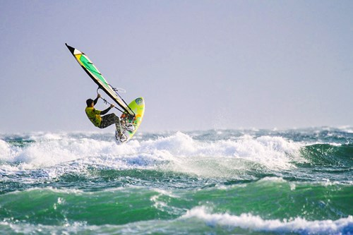Windsurfing Tiree
