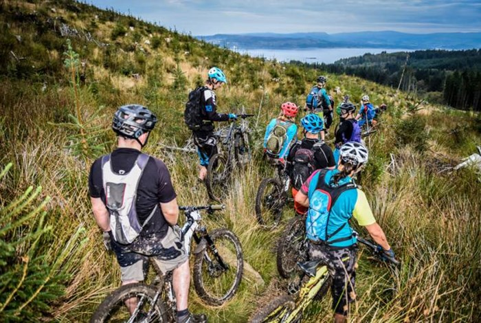 Mountain or quad: why Dunoon is the perfect base for biking!