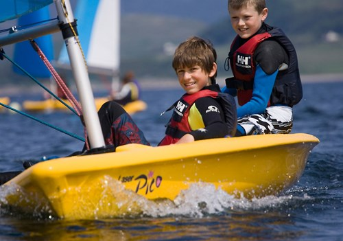 Dingy Sailing, Tighnabruaich Sailing School