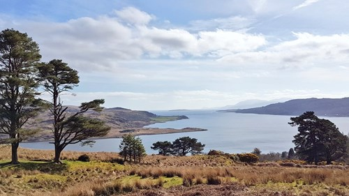 Argyll's Secret Coast viewpoint
